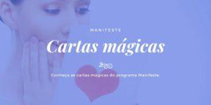 Conheça as cartas mágicas-Manifeste Aplicativo