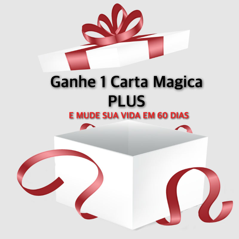 Carta mágica ao universo- Ganhe três catas magicas
